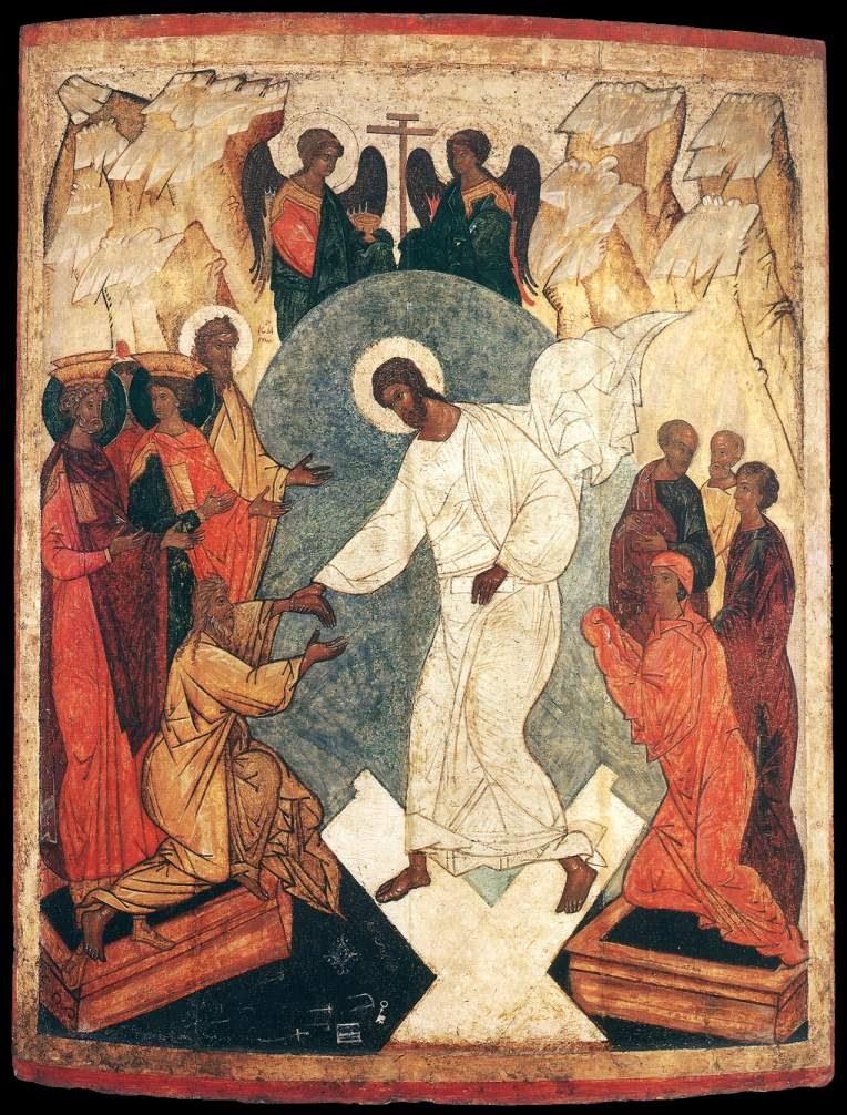 Icono La resurrección de Cristo